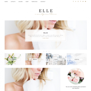 Elle Feminine Wordpress theme